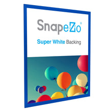 "Load image into Gallery viewer, 36x48 Blue SnapeZo® Snap Frame - 1.25"" Profile"