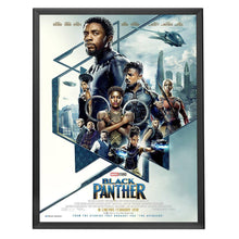 Load image into Gallery viewer, Black movie poster SnapeZo® frame poster size 30X40 - 1.25 inch profile