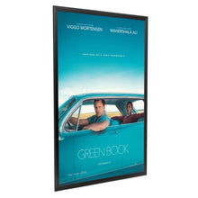 Load image into Gallery viewer, Black movie poster SnapeZo® frame poster size 27X40 - 1.25 inch profile