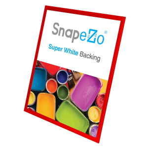 "36x48 Red SnapeZo® Snap Frame - 1.25"" Profile"