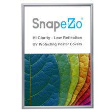 "Load image into Gallery viewer, 31x46 Silver SnapeZo® Snap Frame - 1.2"" Profile"