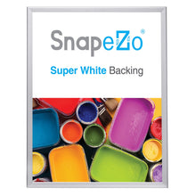 "Load image into Gallery viewer, 24x32 Silver SnapeZo® Snap Frame - 1.25"" Profile"
