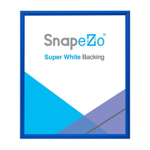 Load image into Gallery viewer, 28x32 Blue SnapeZo® Snap Frame - 1.2 Inch Profile