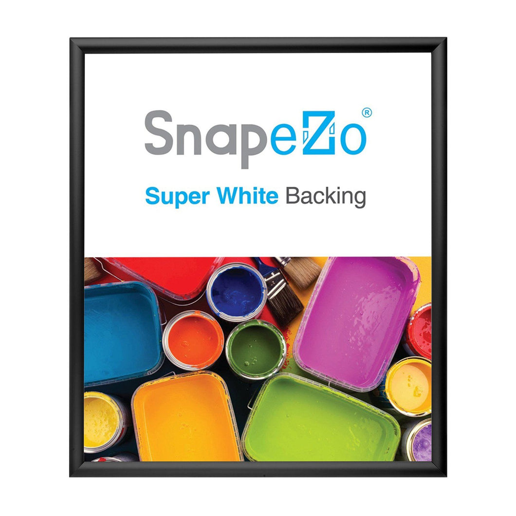 28x32 Black SnapeZo® Snap Frame - 1.2 Inch Profile