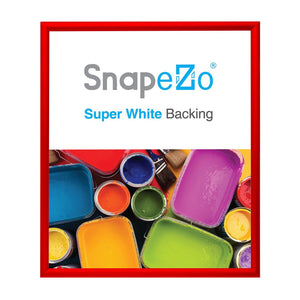 28x32 Red SnapeZo® Snap Frame - 1.2 Inch Profile