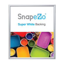 Load image into Gallery viewer, 28x32 Silver SnapeZo® Snap Frame - 1.2 Inch Profile