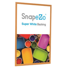 Load image into Gallery viewer, 18x24 Light Wood SnapeZo® Snap Frame - 1.25 Inch Profile