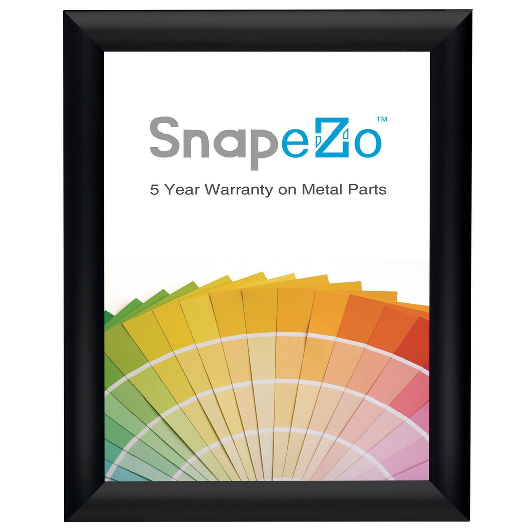 8x10 Brushed Black SnapeZo® Snap Frame - 1 Inch Profile
