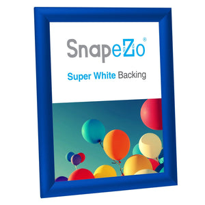 "8.5x11 Blue SnapeZo® Snap Frame - 1"" Profile"