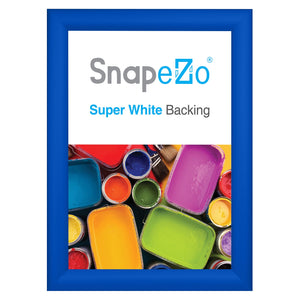 11x15 Blue SnapeZo® Snap Frame - 1.2 Inch Profile