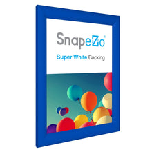 Load image into Gallery viewer, 11x15 Blue SnapeZo® Snap Frame - 1.2 Inch Profile
