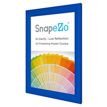 Load image into Gallery viewer, 11x16 Blue SnapeZo® Snap Frame - 1.2 Inch Profile