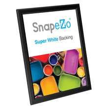 "Load image into Gallery viewer, 8.5x11 Black SnapeZo® Snap Frame - 0.8"" Profile"