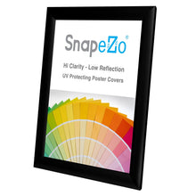 "Load image into Gallery viewer, 8x10 Black SnapeZo® Snap Frame - 1"" Profile"