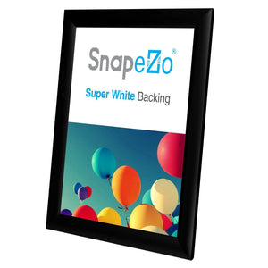 8.5x11 Black SnapeZo Snap Frame - 1 Inch Profile