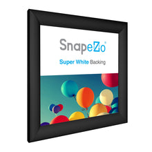 Load image into Gallery viewer, 10x10 Black SnapeZo® Snap Frame - 1.2 Inch Profile