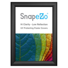 Load image into Gallery viewer, 11x15 Black SnapeZo® Snap Frame - 1.2 Inch Profile