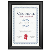 Load image into Gallery viewer, 12x15 Black SnapeZo® Snap Frame - 1.2 Inch Profile