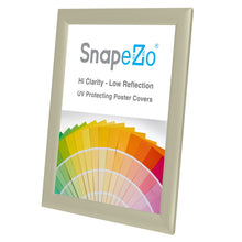 "Load image into Gallery viewer, 8.5x11 Cream SnapeZo® Snap Frame - 1"" Profile"