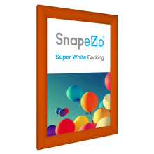 Load image into Gallery viewer, 11x17 Orange SnapeZo® Snap Frame - 1.2 Inch Profile