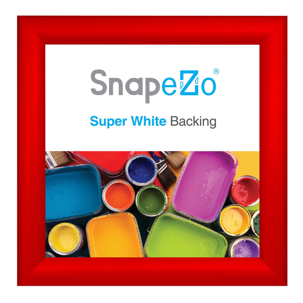 10x10 Red SnapeZo® Snap Frame - 1.2 Inch Profile