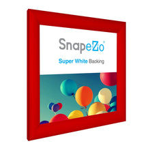Load image into Gallery viewer, 10x10 Red SnapeZo® Snap Frame - 1.2 Inch Profile