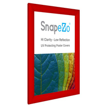 Load image into Gallery viewer, 11x14 Red SnapeZo® Snap Frame - 1.2 Inch Profile