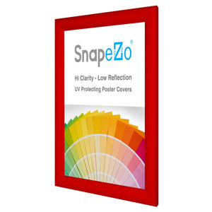 11x14 Red SnapeZo® Snap Frame - 1.2 Inch Profile