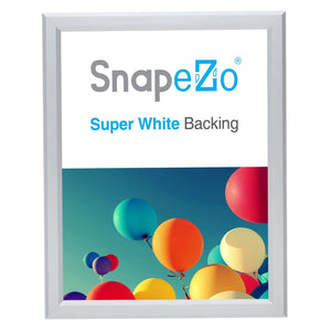 11x14 Silver SnapeZo® Snap Frame - 0.8 Inch Profile