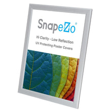 "Load image into Gallery viewer, 8.5x11 Silver SnapeZo® Snap Frame - 0.8"" Profile"
