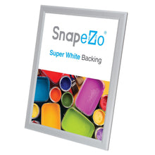 Load image into Gallery viewer, 11x14 Silver SnapeZo® Snap Frame - 0.8 Inch Profile