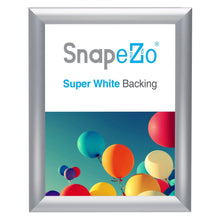Load image into Gallery viewer, Silver certificate SnapeZo® snap frame poster size 9X11.5 - 1.2 inch profile