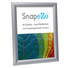 "Load image into Gallery viewer, 8.5x11 Silver SnapeZo® Snap Frame - 1"" Profile"