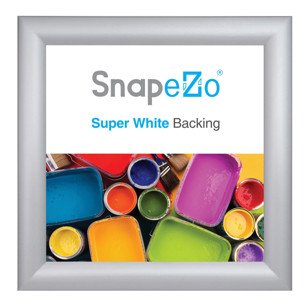 10x10 Silver SnapeZo® Snap Frame - 1.2 Inch Profile