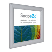 Load image into Gallery viewer, 10x10 Silver SnapeZo® Snap Frame - 1.2 Inch Profile