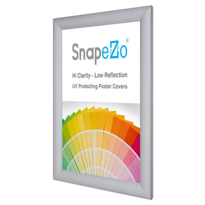11x14 Silver SnapeZo® Snap Frame - 1.2 Inch Profile