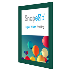 "8.5x11 Green SnapeZo® Snap Frame - 1.2"" Profile"