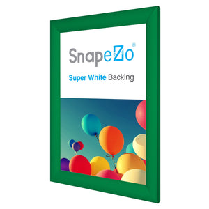 11x17 Light Green SnapeZo® Snap Frame - 1.2 Inch Profile