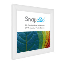 Load image into Gallery viewer, 10x10 White SnapeZo® Snap Frame - 1.2 Inch Profile
