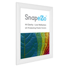 Load image into Gallery viewer, 11x15 White SnapeZo® Snap Frame - 1.2 Inch Profile