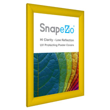 Load image into Gallery viewer, 11x17 Yellow SnapeZo® Snap Frame - 1.2 Inch Profile
