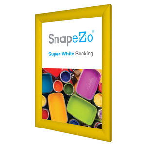 11x17 Yellow SnapeZo® Snap Frame - 1.2 Inch Profile
