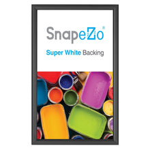 "Load image into Gallery viewer, 8.5x14 Black SnapeZo® Snap Frame - 0.6"" Profile"