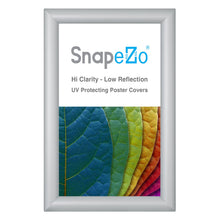 "Load image into Gallery viewer, 8.5x14 Silver SnapeZo® Snap Frame - 1.2"" Profile"