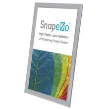 Load image into Gallery viewer, A3 Brushed Silver SnapeZo® Snap Frame - 1 Inch Profile