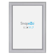 "Load image into Gallery viewer, A5 Silver SnapeZo® Snap Frame - 1"" Profile"
