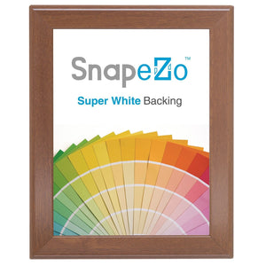 8x10 Dark Wood SnapeZo® Snap Frame - 1 Inch Profile