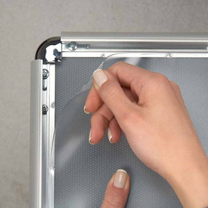 19x19 Clear-Glossy SnapeZo® PVC Cover