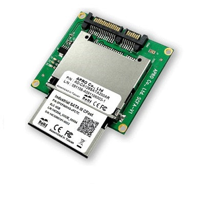 "APRO AD-CA128SATA200AR - 1.8"" SATA to CFast Card Adapter"