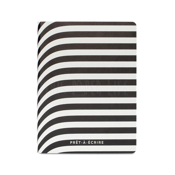 Notebook . Large Dotted Journal / Graphic Pret a Ecrire